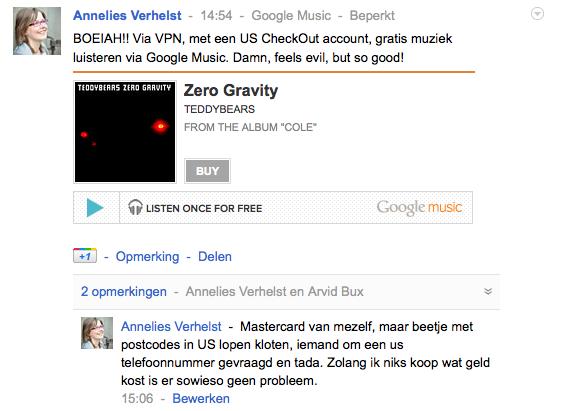 zo doe je dat, google music