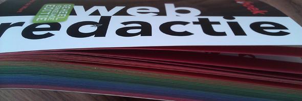 Kleur op snee Handboek Webredactie