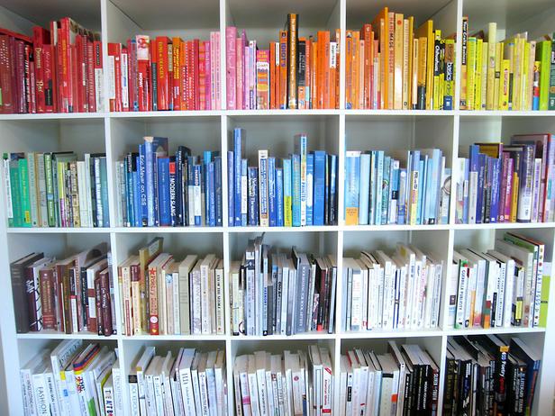 boekenkast op kleur - tip1